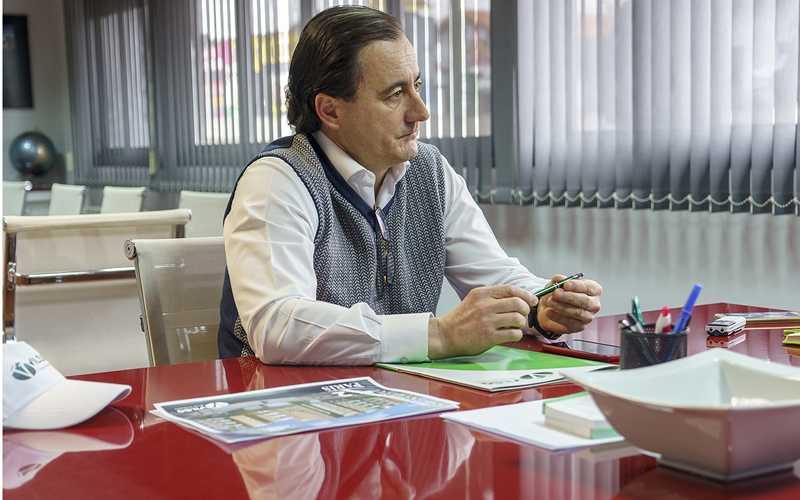 Antonio Sánchez, gerente de Vilsa Grupo Inmobiliario