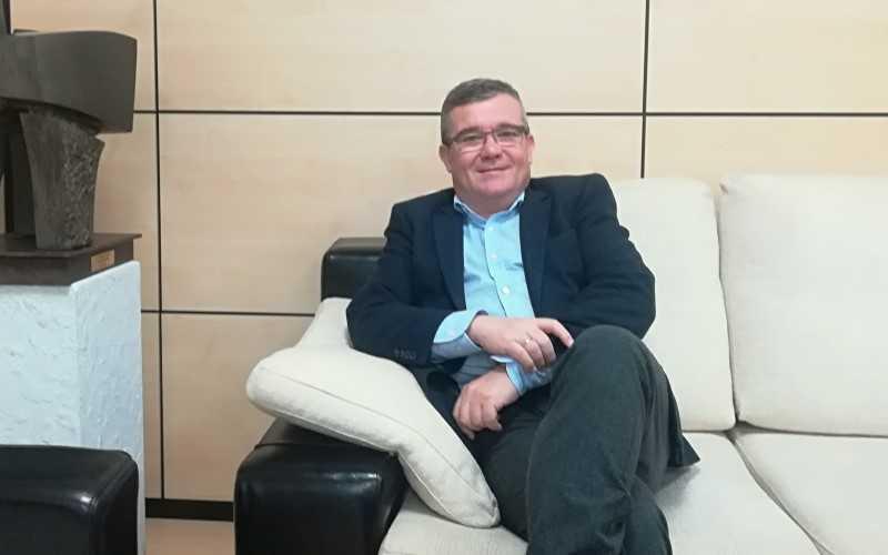 Guillermo Hita, en su despacho