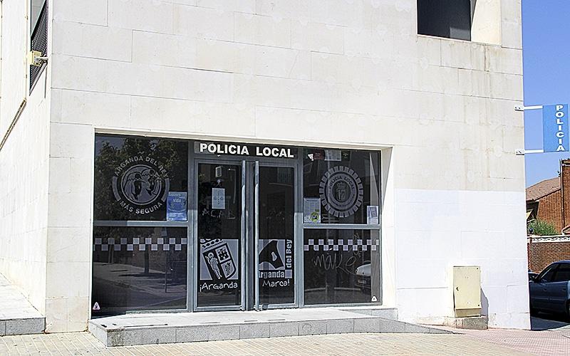 Policía Local de Arganda del Rey, en La Poveda