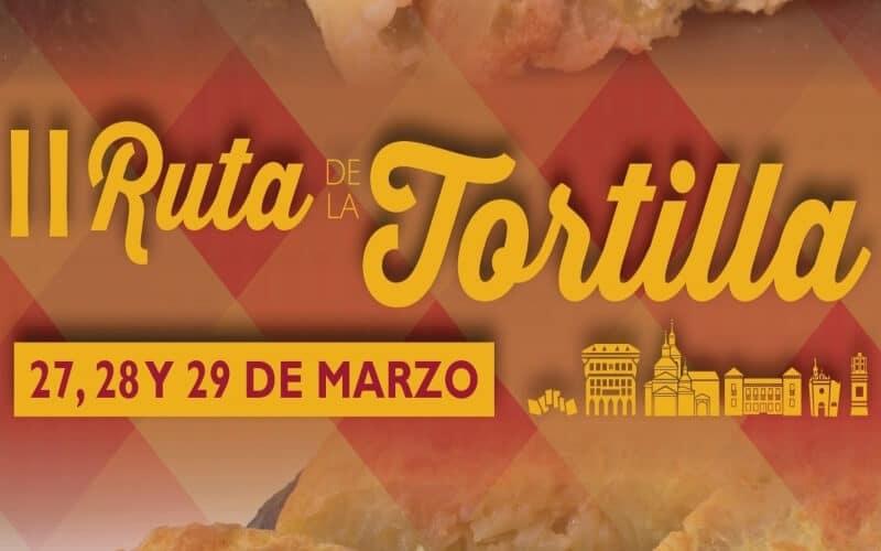 La II Ruta de la Tortilla de Arganda se celebrará del 27 al 29 de marzo