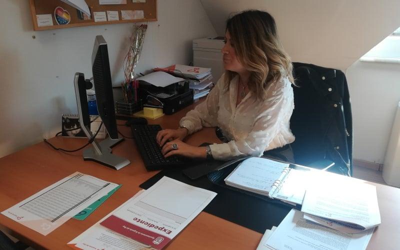 Cristina Miguel, portavoz de Ciudadanos en Arganda del Rey