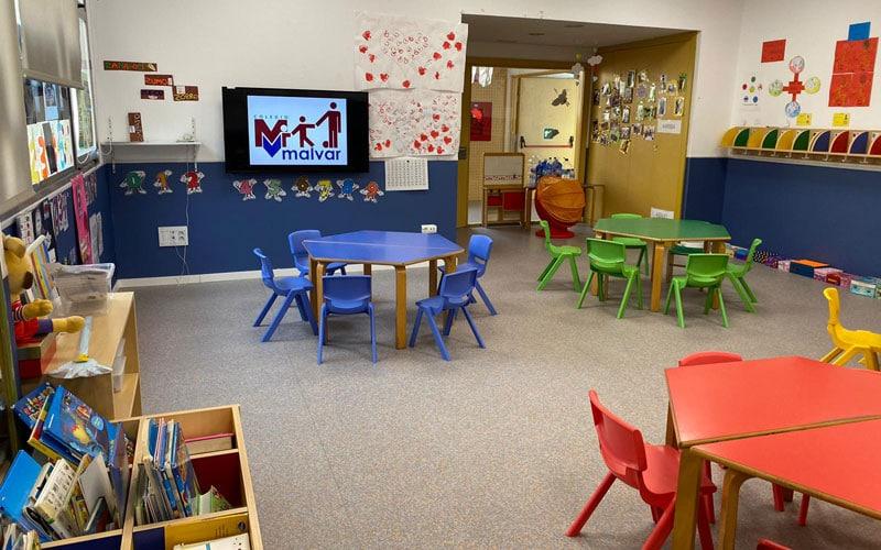 Aula de Infantil Colegio Malvar
