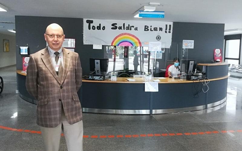 Carlos Sangregorio, director gerente del Hospital del Sureste