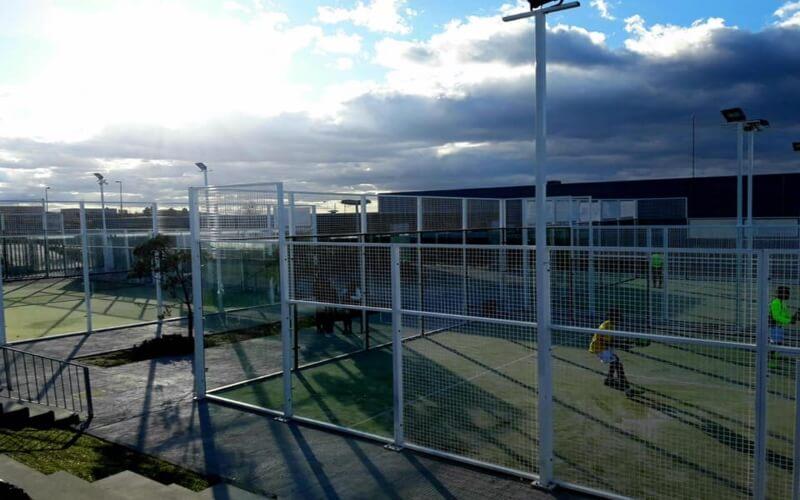 Desde este martes se permiten los partidos dobles de tenis y pádel en Arganda