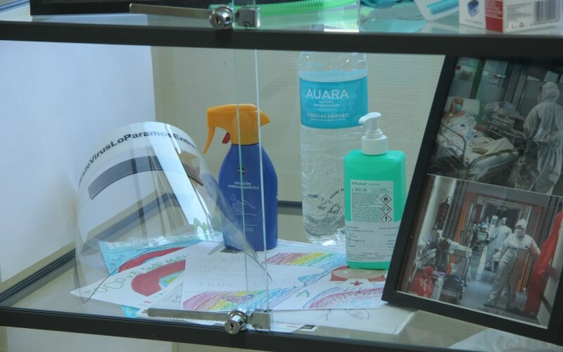 El Hospital del Sureste crea un 'espacio para el recuerdo' por la Covid-19
