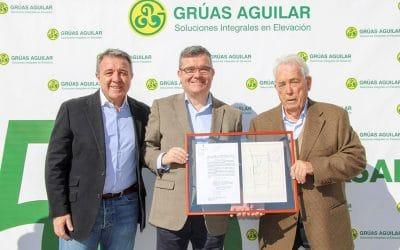 Fallece a los 86 años el reconocido empresario local Luis Aguilar Guillén