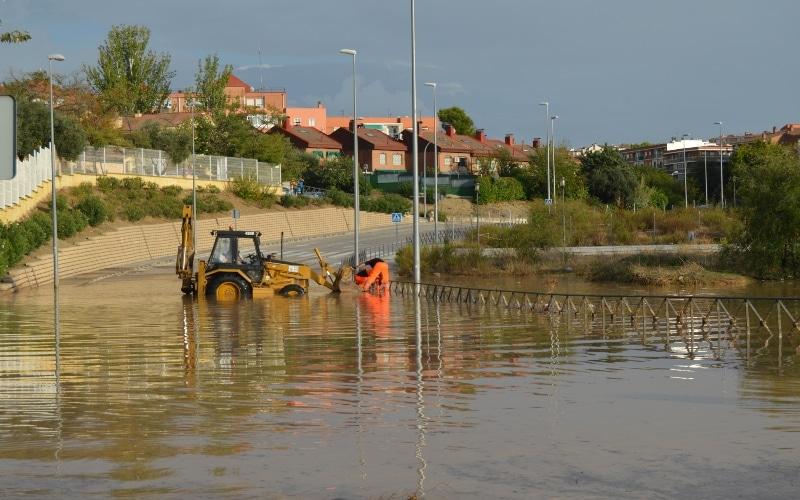 Arganda, un año después de la DANA que asoló a la población con inundaciones en viviendas y comercios