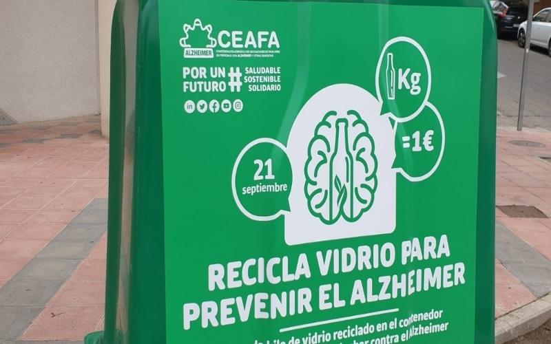 Arganda participa en la campaña solidaria para apoyar la lucha contra el alzhéimer