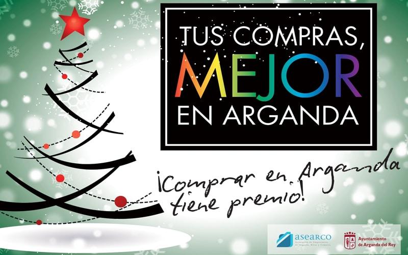 """En marcha la campaña """"Tus compras, mejor en Arganda"""" y el concurso de escaparates navideños"""