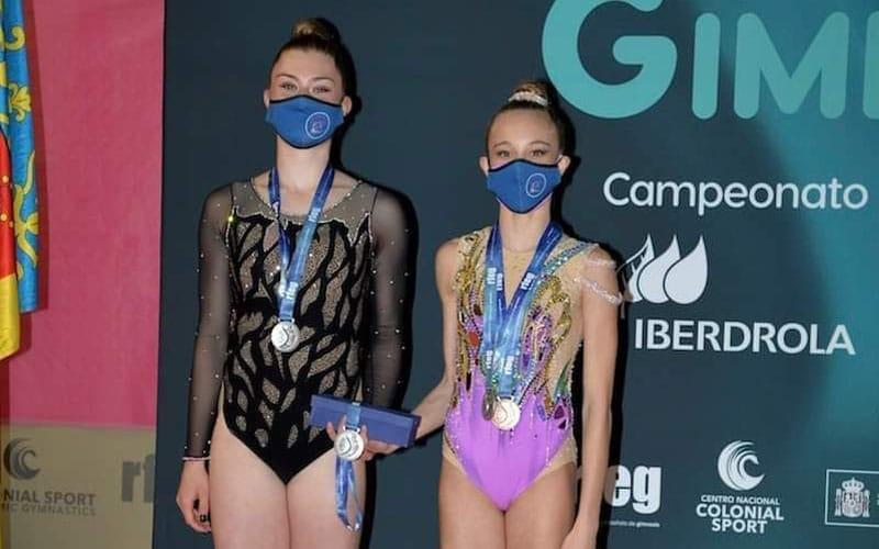 El Club Gimnasia Rítmica Arganda logra la plata en el Campeonato de España por Equipos