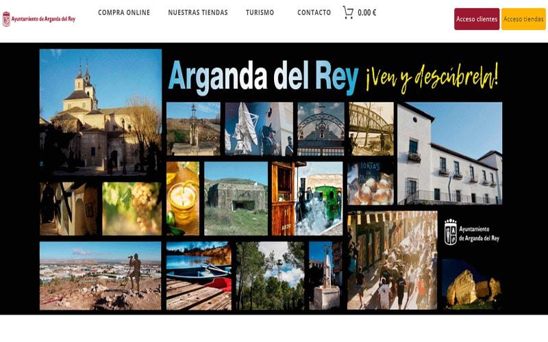 El Mercado Virtual de Arganda echa a andar con más de 100 comercios adheridos