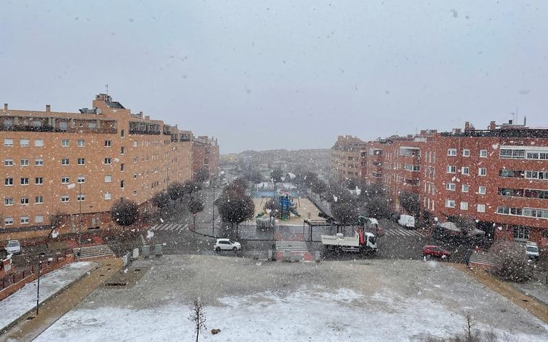nieve, arganda, nevada