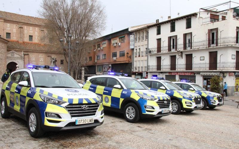 Nuevos vehículos patrulla de Policía Local (foto: Ayuntamiento de Arganda del Rey)