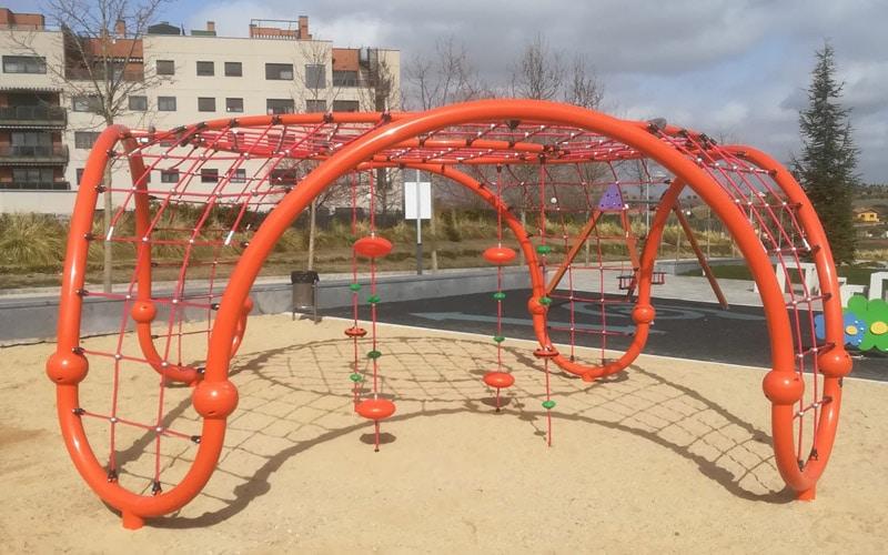 Nuevos juegos infantiles en parques de Arganda (foto: Ayuntamiento de Arganda del Rey)