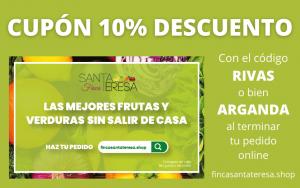 CUPÓN 10% DESCUENTO FINCA SANTA TERESA