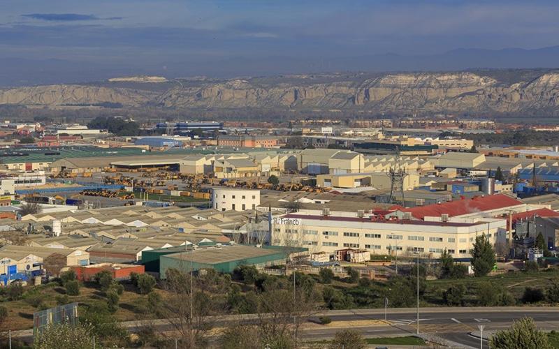 Polígono industrial de Arganda del Rey (foto: Fernando Galán)