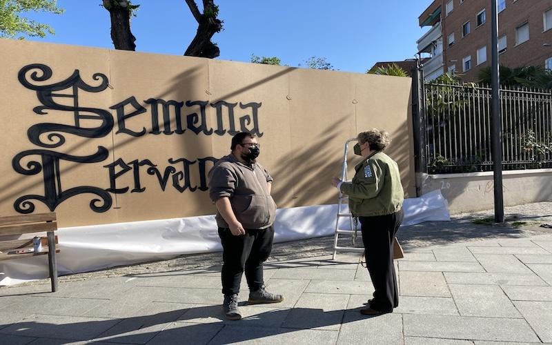 Carlos López González y la concejala Monserrat Fernández Gemes