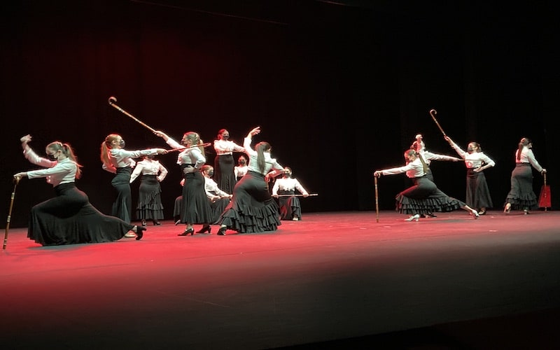 Fígaro Danza en la gala benéfica de AVA Arganda