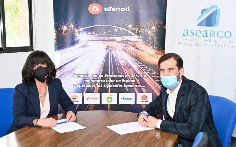 ATENOIL ofrece descuentos en combustible para las más de 600 empresas asociadas a ASEARCO y sus trabajadores