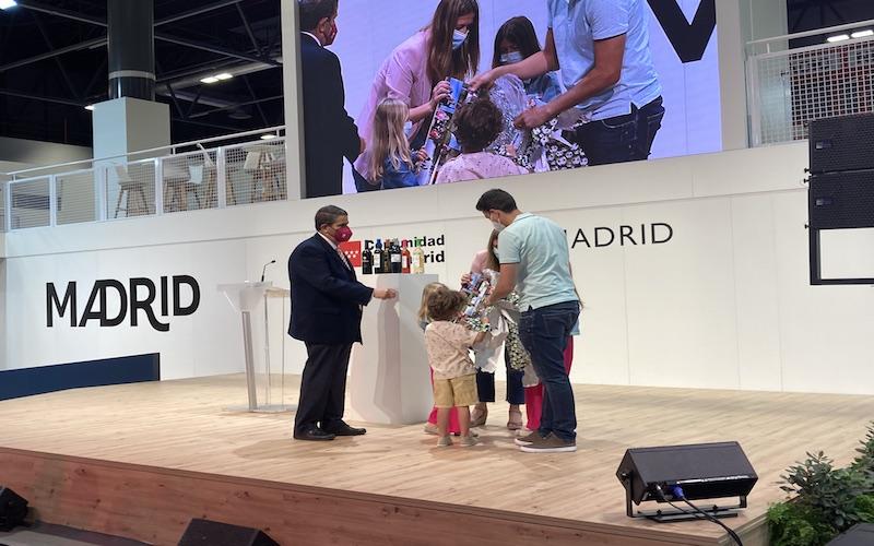 Presentación de Arganda del Rey en el stand de la Comunidad de Madrid en la 41º edición Feria Internacional de la Feria Internacional del Turismo