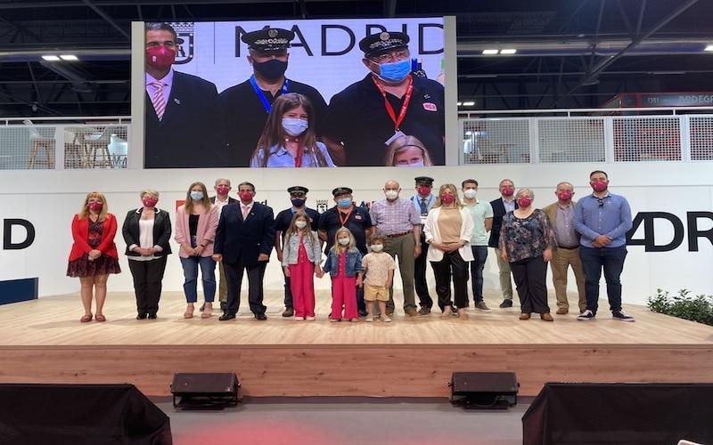 Presentación de Arganda del Rey en el stand de la Comunidad de Madrid en la Feria Internacional del Turismo (Fitur)