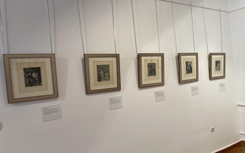 """Serie de grabados """"Los desastres de la guerra"""" de Goya"""