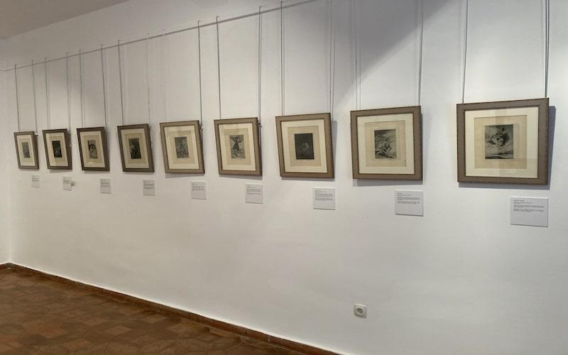 """Serie de grabados """"Los disparates"""" de Goya"""
