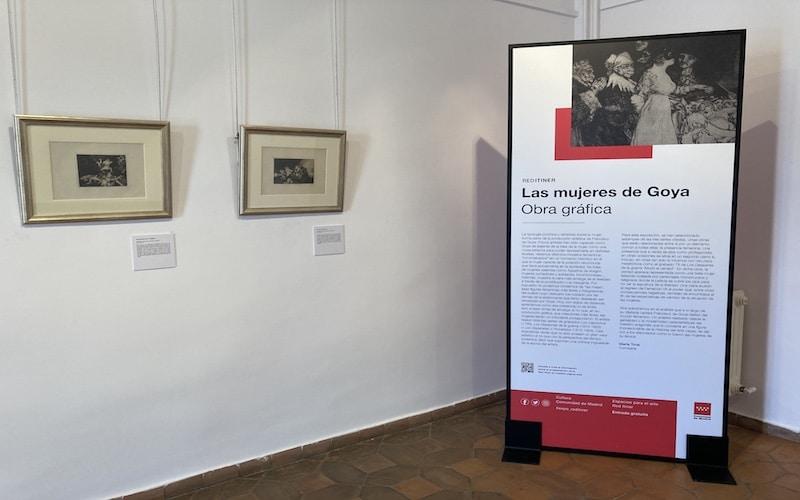 """Inicio de la exposición """"Las mujeres de Goya"""""""