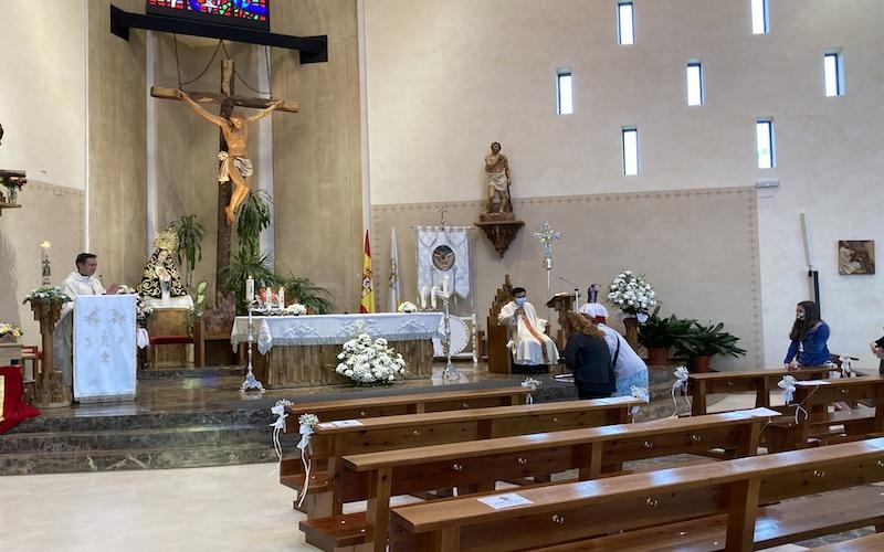 """La Hermandad del Santísimo Cristo de la Salud de Arganda celebra sus actos conmemorativos """"con mucha alegría"""" tras un año """"muy duro"""""""