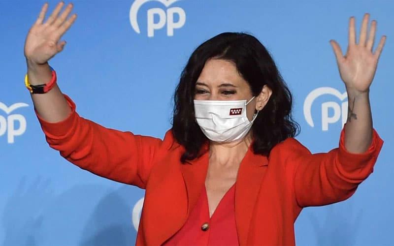 El PP arrasa en las elecciones regionales, frente al descalabro del PSOE y la desaparición de Ciudadanos