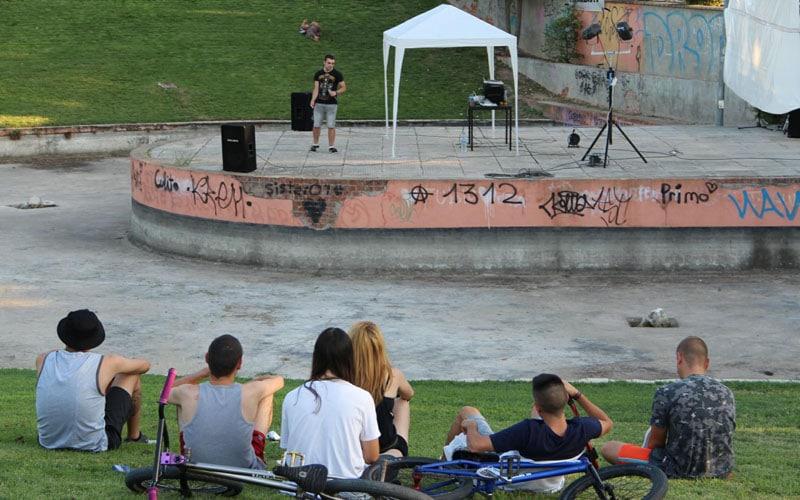 El anfiteatro del Parque 1º de Mayo de Arganda se convertirá en un nuevo espacio para conciertos y eventos culturales