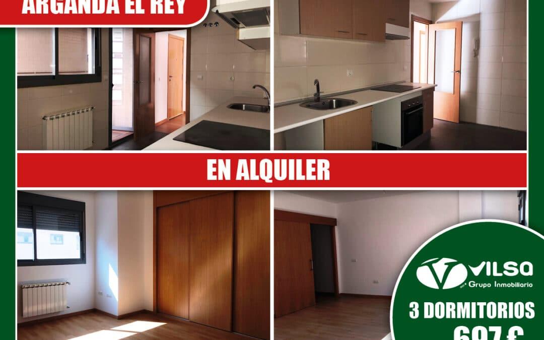 Estrena tu vivienda nueva de alquiler en Arganda del Rey con Vilsa Grupo Inmobiliario