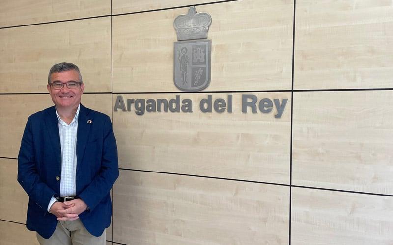 Guillermo Hita, alcalde de Arganda (foto: Diario de Arganda)