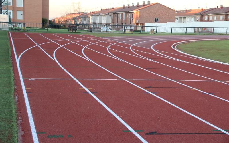 Pista de atletismo del Estadio Municipal de Arganda (foto: Ayuntamiento de Arganda del Rey)