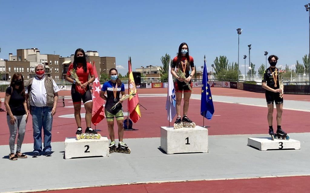 Campeonato de España de Patinaje 2021 en Arganda del Rey