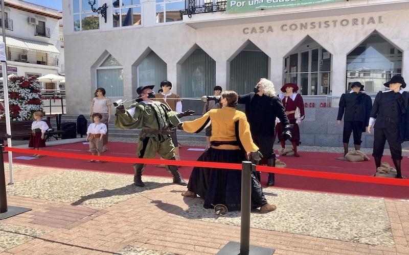 Así ha sido la conmemoración del Motín de Arganda en la Plaza de la Constitución: una exposición para recordar la historia del municipio