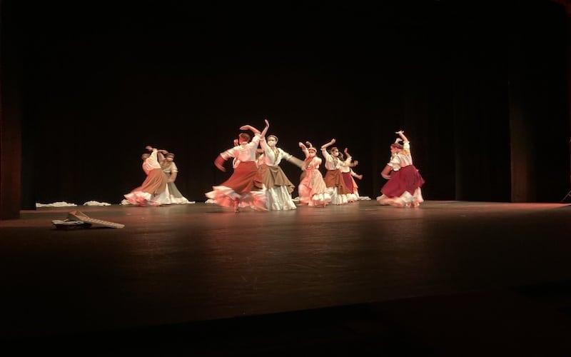 Fin de curso del Área de Danza de la EMMD: amplio repertorio en diversas modalidades artísticas
