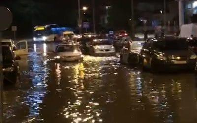 Las fuertes lluvias de la pasada noche vuelven a generar problemas en Arganda