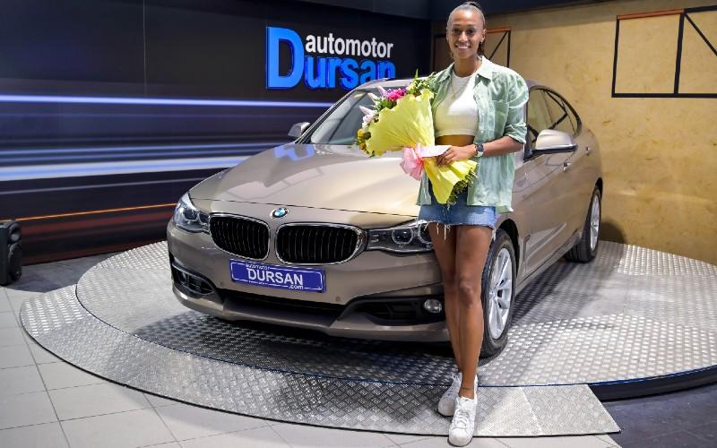 Dursan acompaña a la atleta española Ana Peleteiro en su camino hasta los Juegos Olímpicos de Tokio