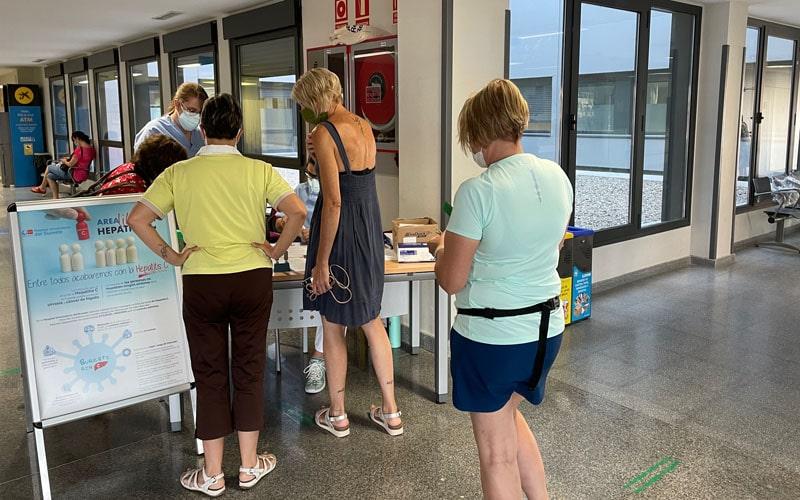 La jornada de detección de la hepatitis C del Hospital del Sureste, un éxito de participación