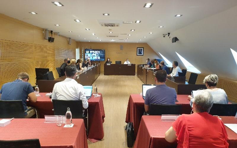 Pleno Extraordinario del Ayuntamiento de Arganda
