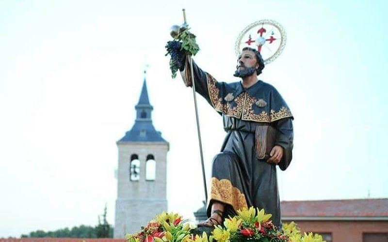 Imagen de Santiago Apóstol en Arganda del Rey. (Foto: Ayuntamiento de Arganda).