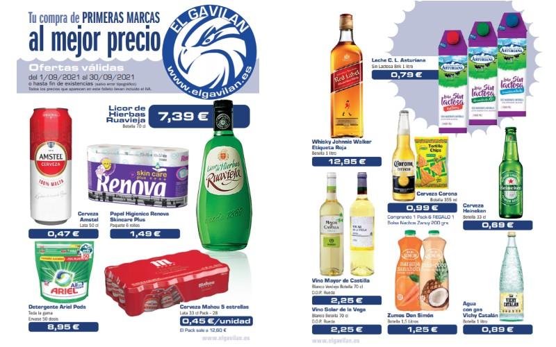 Catálogo de ofertas de El Gavilán para septiembre