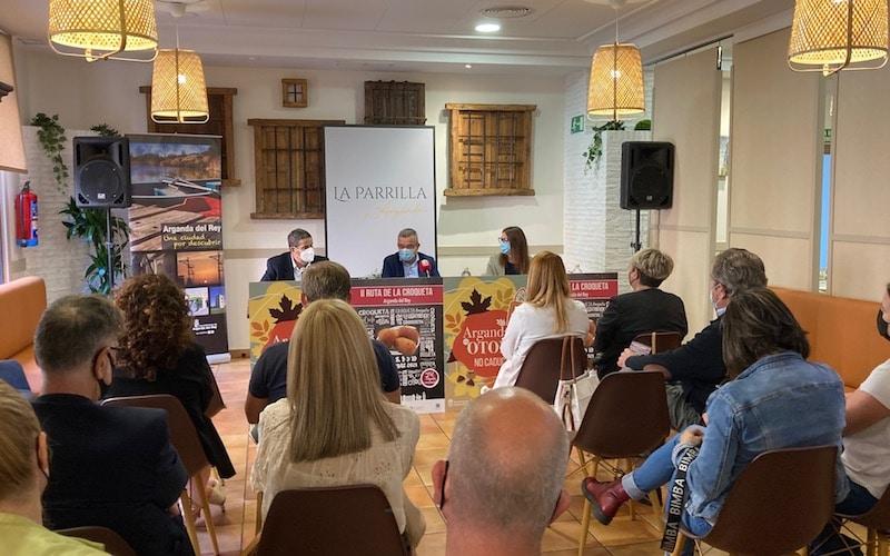 Arganda presenta la II Ruta de la Croqueta con premios y sorteos en 25 establecimientos
