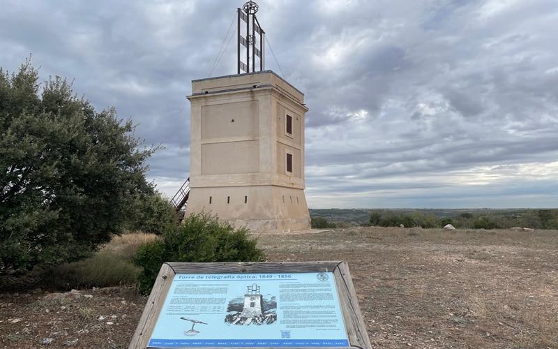 Torre de telegrafía óptica de Arganda