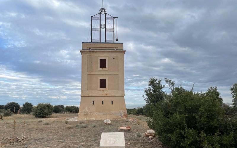 Torre de telegrafía óptica de Arganda (foto: @Diario de Arganda)