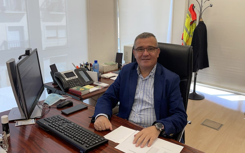 Guillermo Hita, alcalde de Arganda (foto: @Diario de Arganda)